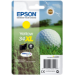 Epson Golf ball Singlepack Yellow 34XL DURABrite Ultra Ink