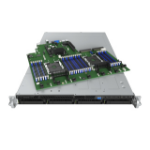 Intel R1304WFTYS server barebone C624 Socket P 1U Black,Silver