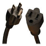 Tripp Lite P024-015-13A 4.5m NEMA 5-15P NEMA 5-15R Black power cable