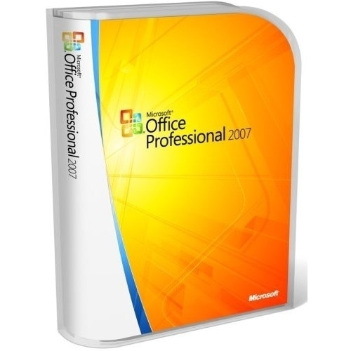 Microsoft Office Professional 2007, Win32, 1pk DSP OEM, V2, MLK, FR