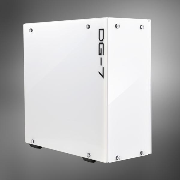 EVGA DG-75 Midi-Tower White computer case
