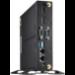 Shuttle XPС slim DS10U 1.3L sized PC Black Intel SoC BGA 1528 4205U 1.8 GHz