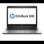 "HP EliteBook Notebook 840 G3 DDR4-SDRAM 35.6 cm (14"") 1366 x 768 pixels 6th gen Intel® Core™ i5 4 GB 256 GB SSD Wi-Fi 5 (802.11ac) Windows 10 Pro Black, Silver"