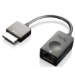 Lenovo 4X90K06975 adaptador de cable OneLink+ RJ45 Negro