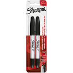 Sharpie 1985878 permanent marker Black 2 pc(s)