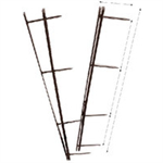 GBC VeloBind Binding Strips 45mm White (25)