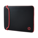 HP 14 Black/Red Neoprene Sleeve