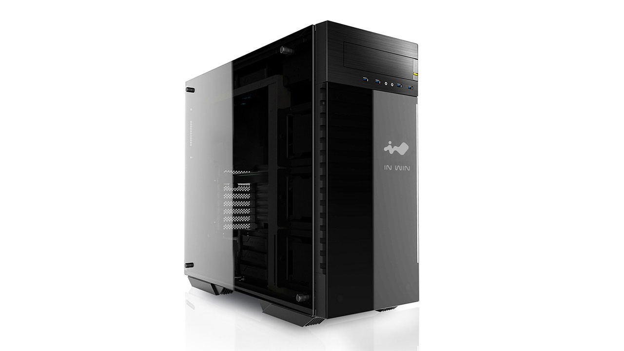 In Win 509 Full-Tower Black,Grey computer case