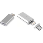 MicroBattery MBXAP-CO0001 lightning cable Silver