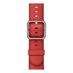 Apple 38mm Red Classic Buckle