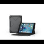 ZAGG Rugged messenger Bluetooth QWERTY Brits Engels Zwart toetsenbord voor mobiel apparaat