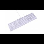 LMP 17200 Tastatur USB Schweiz Aluminium