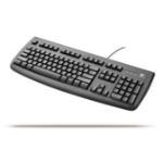 Logitech Deluxe 250 USB Keyboard USB QWERTY Black keyboard
