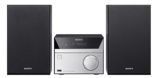 Sony CMTSBT20 home audio set Home audio micro system Black,Silver 12 W