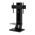 "B-Tech BTF812 75"" Fixed flat panel floor stand Black"