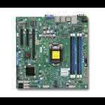 Supermicro X10SLM-F Intel C224 Socket H3 (LGA 1150) Micro ATX server/workstation motherboard