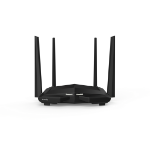 Tenda AC10 wireless router Dual-band (2.4 GHz / 5 GHz) Gigabit Ethernet Black