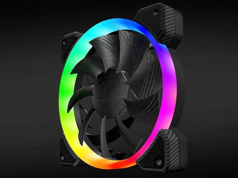 COUGAR Gaming CF-V12SET-RGB computer cooling component Computer case Fan