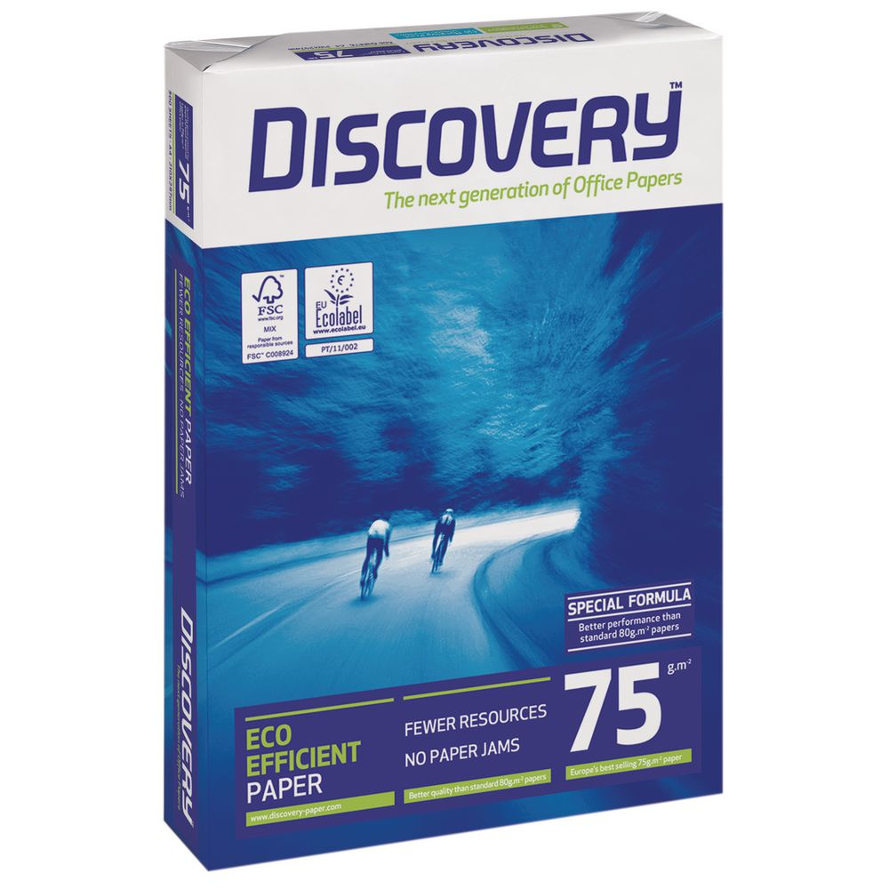 Discovery Paper Paper 75gsm A4 BX10 reams