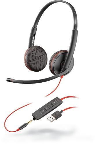 POLY Blackwire C3225 Headset Head-band Black