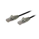 "StarTech.com N6PAT6INBKS networking cable 7.87"" (0.2 m) Cat6 U/UTP (UTP) Black"