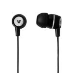 V7 HA110-BLK-12NB In-ear Binaural Wired Black mobile headset