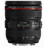 Canon EF 24-70mm f/4L IS USM SLR Standard zoom lens Black