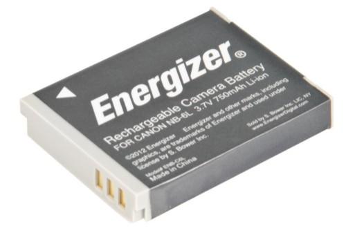 Energizer ENB-C6L camera/camcorder battery Lithium-Ion (Li-Ion) 750 mAh