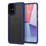 "Spigen ACS00769 mobiele telefoon behuizingen 17 cm (6.7"") Hoes Zwart, Blauw"