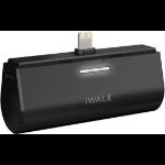 iWALK Link Me 3000L Lithium-Ion (Li-Ion) 3000mAh Black power bank