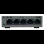Netgear GS305 Unmanaged network switch L2 Gigabit Ethernet (10/100/1000) Grey