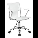 Eliza Tinsley Trento Swivel Arm Chair White DD