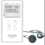 Sangean DT-120 Portable Digital White radio