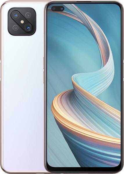 """Oppo Reno Reno4 Z 5G 16.7 cm (6.57"""") Dual SIM Android 10.0 USB Type-C 128 GB 4000 mAh White"""