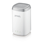Zyxel LTE4506-M606 wireless router Dual-band (2.4 GHz / 5 GHz) Gigabit Ethernet 3G 4G White