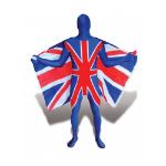 MERONCOURT Union Jack Adult Cosplay Costume Morphsuit, Medium, Multi-Colour (MFUNM)