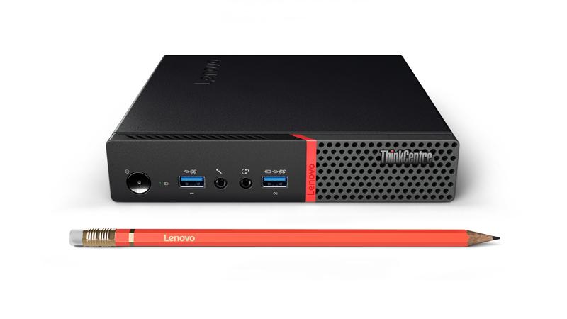 Lenovo ThinkCentre M715 Tiny 3GHz A10-9700E 1L sized PC Black Mini PC