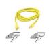 Belkin Patch cable - RJ-45(M) - RJ-45(M) - 2m ( CAT 5e ) 10/100Base-T - yellow