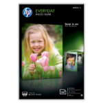 HP Everyday Fotopapier Weiß Glanz