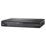 Cisco C891F-K9 router Gigabit Ethernet Negro, Gris
