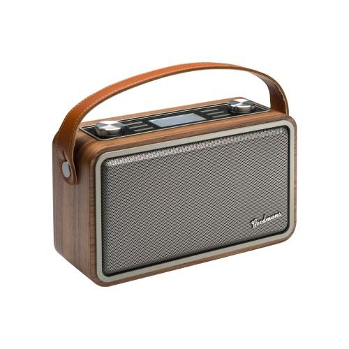 Goodmans HP1WOD Portable Digital Brown, Grey radio