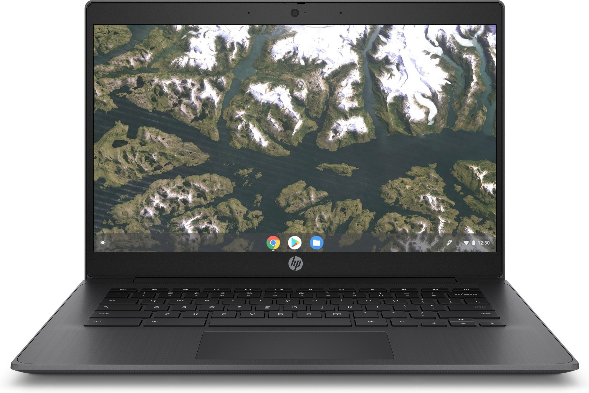 "HP Chromebook 14 G6 35.6 cm (14"") Touchscreen HD Intel-� Celeron-� 4 GB LPDDR4-SDRAM 32 GB eMMC Wi-Fi 5 (802.11ac) Chrome OS Black"