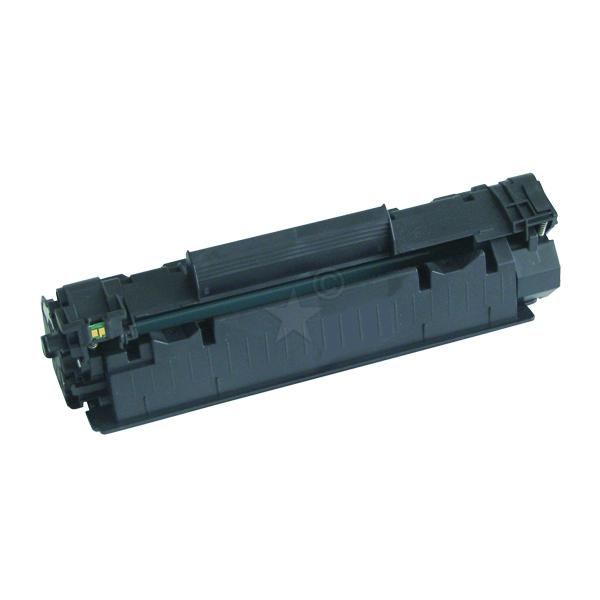 Remanufactured HP CB436A (36A) Black Toner Cartridge