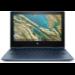 "HP Chromebook x360 11 G3 EE Azul 29,5 cm (11.6"") 1366 x 768 Pixeles Pantalla táctil Intel® Celeron® N 8 GB LPDDR4-SDRAM 64 GB eMMC Wi-Fi 5 (802.11ac) Chrome OS"