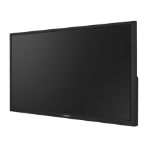 "Hanwha SMT-3233 LED display 80 cm (31.5"") 1920 x 1080 pixels Full HD Black"