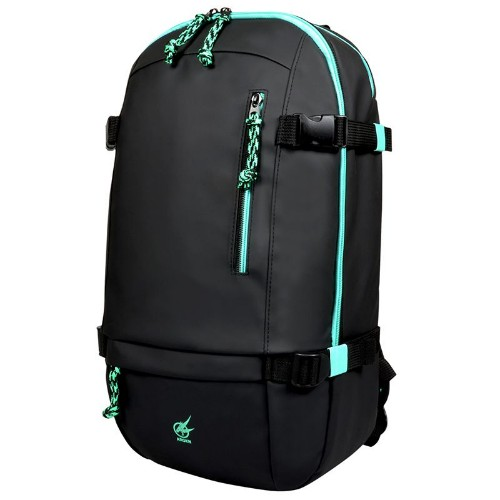 Port Designs AROKH BP-1 backpack Fabric Black, Turquoise