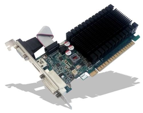 PNY GF710GTLH2GEPB graphics card GeForce GT 710 2 GB GDDR3
