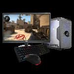 Gorilla Gaming Lite v3 - i3 9100F 3.6GHz, 8GB RAM, 240GB SSD, RX 570 4GB