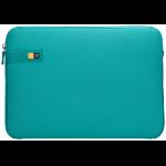 "Case Logic LAPS-114 Latigo Bay notebooktas 35,8 cm (14.1"") Opbergmap/sleeve Turkoois"