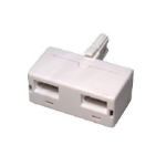 Cables Direct BT-750 cable gender changer 2 x BT White